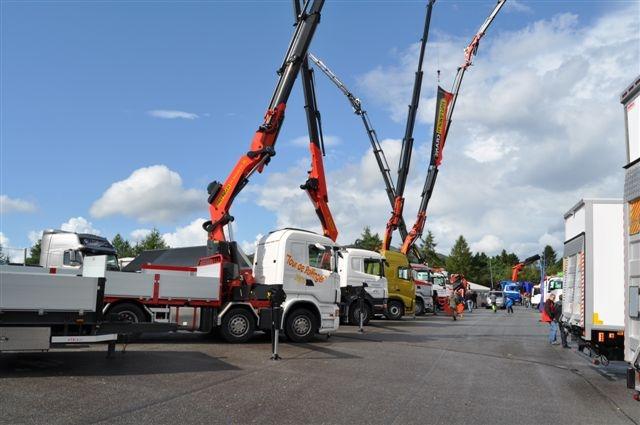 Prøv selv at køre lastbil på Padborg Transportmesse