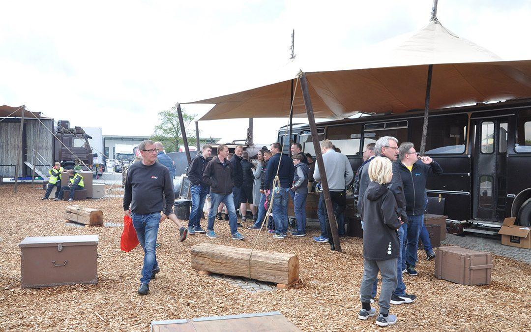 Gaslastbiler og EU-politikere indtager Padborg Transportmesse